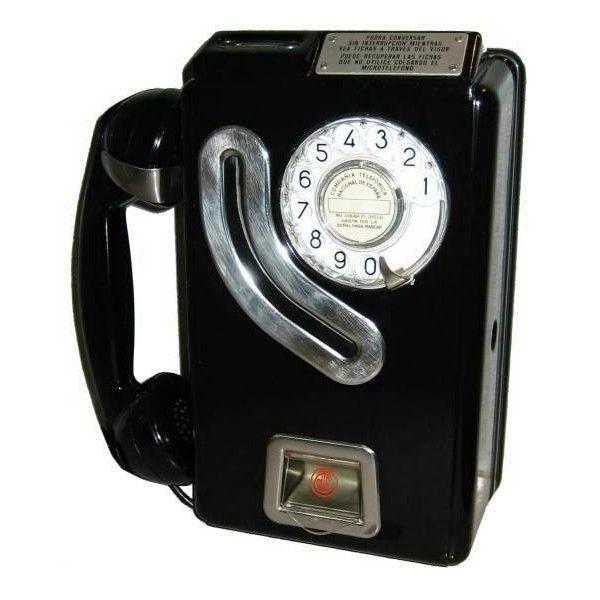 El teléfono de ficha