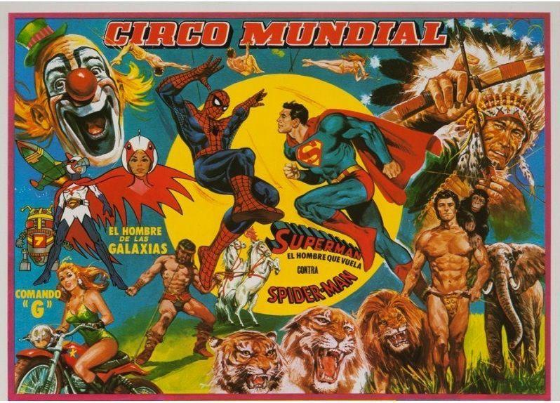 «El fabuloso mundo del circo»