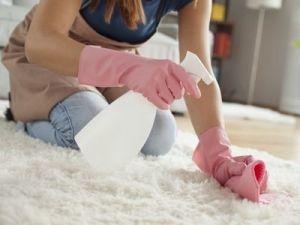 El truco de la abuela para limpiar las alfombras