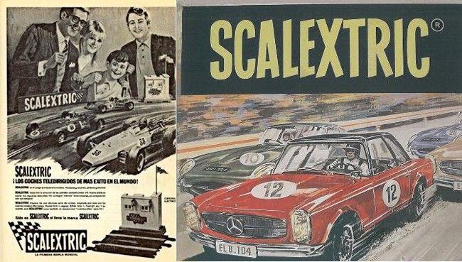 El Scalextric, el juego para niños ¡y sus padres!