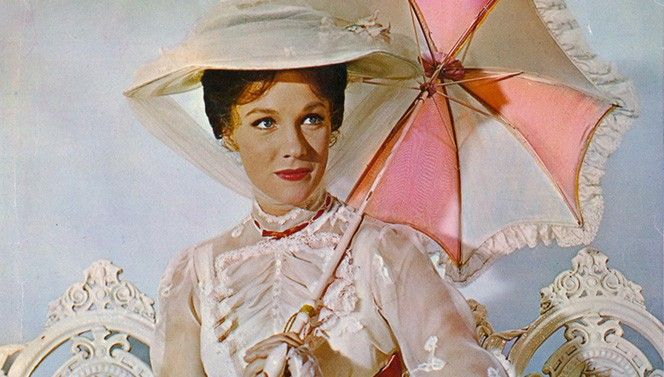 La encantadora Julie Andrews