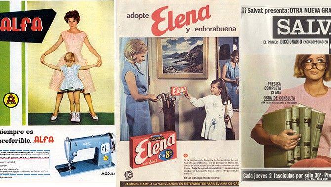 La publicidad era cosa de mujeres