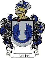 Escudo del apellido Abellón