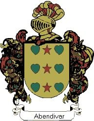 Escudo del apellido Abendivar