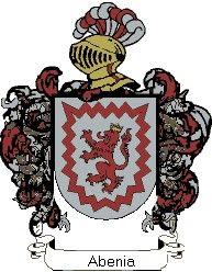 Escudo del apellido Abenia