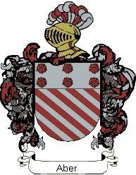 Escudo del apellido Aber