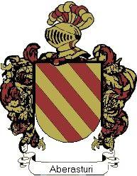 Escudo del apellido Aberasturi