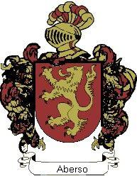 Escudo del apellido Aberso