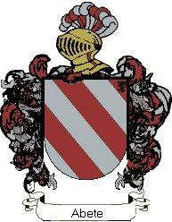 Escudo del apellido Abete