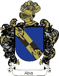 Escudo del apellido Abia
