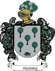 Escudo del apellido Abidabe