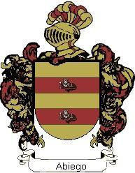Escudo del apellido Abiego