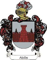 Escudo del apellido Abilla