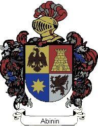 Escudo del apellido Abinin