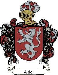 Escudo del apellido Abio
