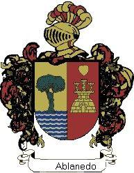 Escudo del apellido Ablanedo