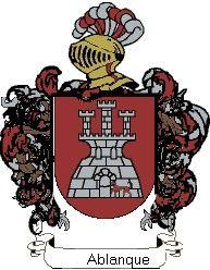 Escudo del apellido Ablanque