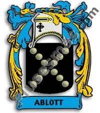 Escudo del apellido Ablott