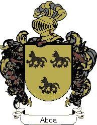 Escudo del apellido Aboa