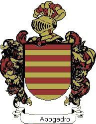 Escudo del apellido Abogadro