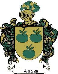 Escudo del apellido Abrante
