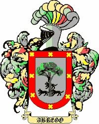 Escudo del apellido Abrego