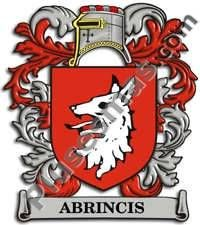 Escudo del apellido Abrincis