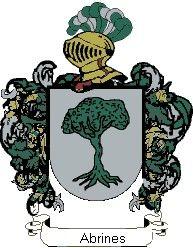 Escudo del apellido Abrines