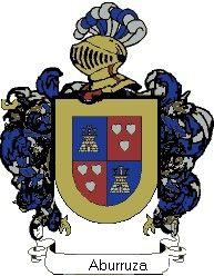 Escudo del apellido Aburruza
