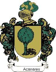 Escudo del apellido Acanares