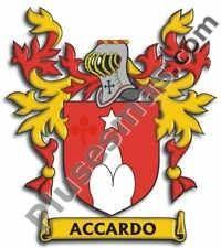 Escudo del apellido Accaardo