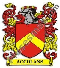 Escudo del apellido Accolans