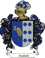 Escudo del apellido Acebal