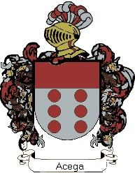 Escudo del apellido Acega