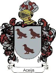 Escudo del apellido Aceija