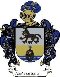 Escudo del apellido Aceña de butrón