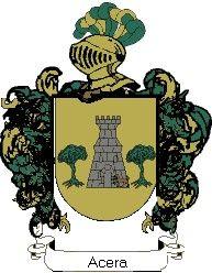 Escudo del apellido Acera