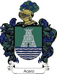 Escudo del apellido Acero