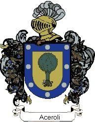 Escudo del apellido Aceroli