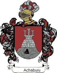 Escudo del apellido Achaburu