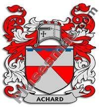 Escudo del apellido Achard