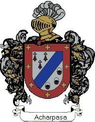 Escudo del apellido Acharpasa