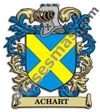Escudo del apellido Achart