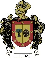 Escudo del apellido Achaval