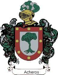 Escudo del apellido Acheros