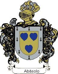 Escudo del apellido Abásolo