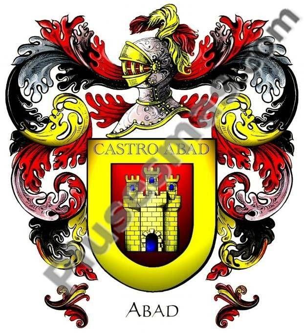 Escudo del apellido Abad