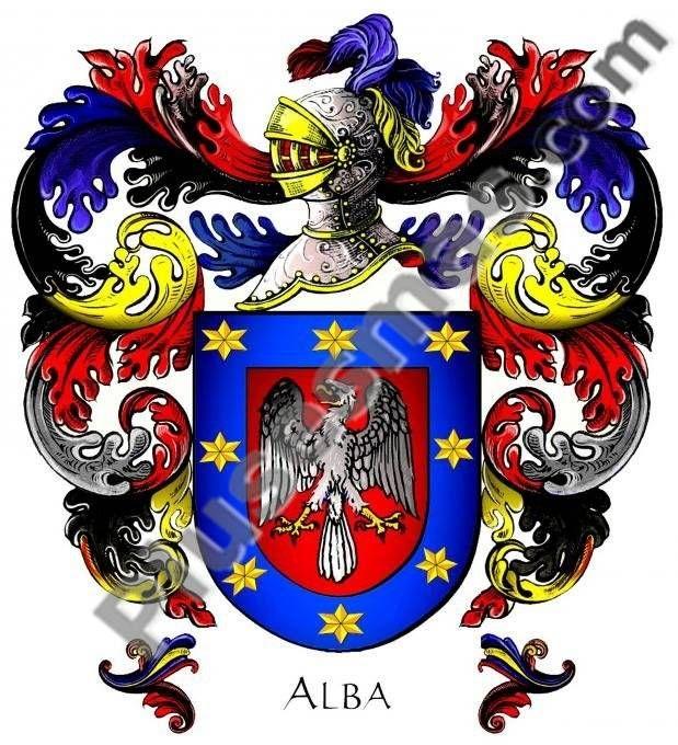 Escudo del apellido Alba