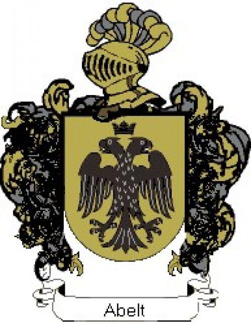Escudo del apellido Abelt