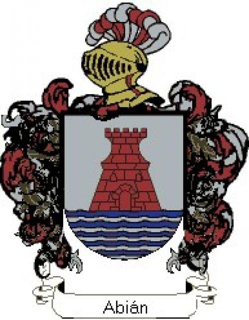 Escudo del apellido Abián